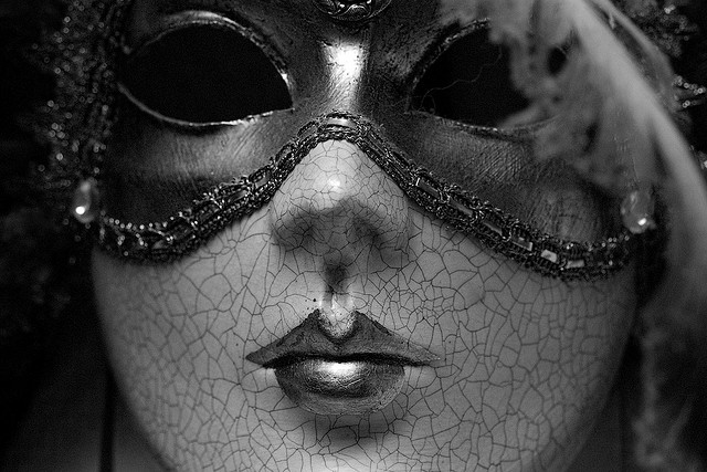 picture :Venetian carnival mask by  Stuart Heath on  Flickr.com