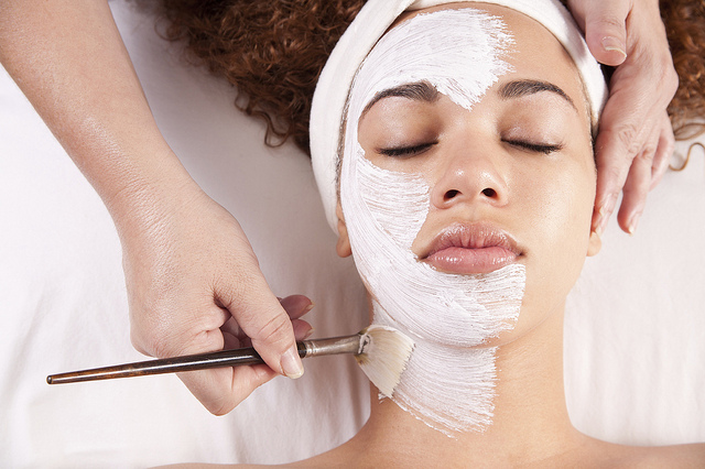 picture : treatment facial by Zenspa1 on flickir.com
